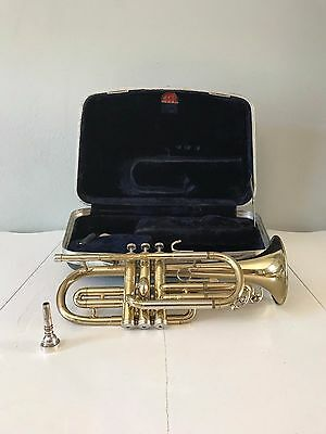 Conn Director Cornet 1966 With Conn Hard Case and Vincent Bach Mouthpiece 3C