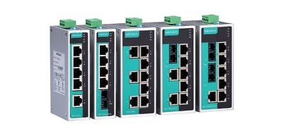 NEW | MOXA EDS-205A Unmanaged Industrial Ethernet Switch 10/100Mps