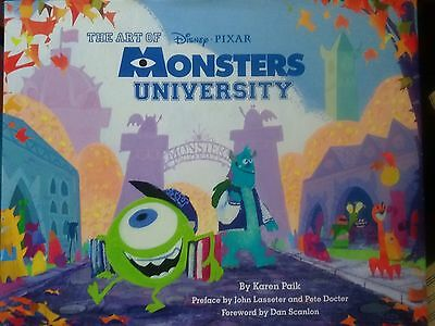 The Art of Monsters University by Pixar Animation Studios Staff.