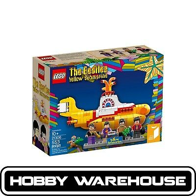 LEGO 21306 Ideas Yellow Submarine (BRAND NEW SEALED)