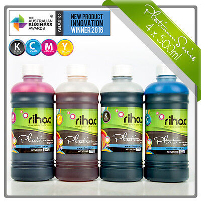 Rihac 500ml CLI671 PGI670 Refill Ink for Canon TS5060 TS6060 TS8060 TS9060 CISS