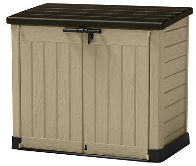 Keter Store It Out Max - Wheelie bin storage or garden storage