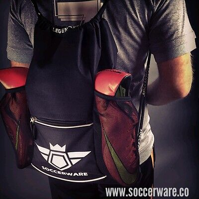 Soccer Bag Backpack - XL Capacity | Youth/Kids | Fits: Ball, Shoes, Shin Guards