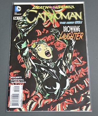 Catwoman #14 - Death Of The Family - 1st Print - New 52 - NM
