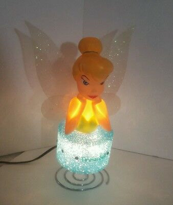 Disney Tinkerbell Lamp Night Light Gel Lamp Tinkerbell on Cloud