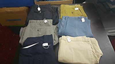 Men's Lot of  6 Casual Pants,Dress & work pants size 36 Various Brands,Styles