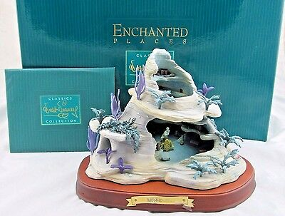 """WDCC Enchanted Places """"Ariel's Grotto"""" from The Little Mermaid in Box with COA"""