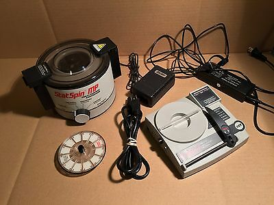 Iris StatSpin MP Vet Centrifuge SSMP w/ 2 Rotors, Digital Reader Power Supply