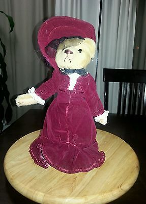 """Brass Button 1910's  """"Gabrielle"""" Pickford Bears 20th Century Collectibles"""