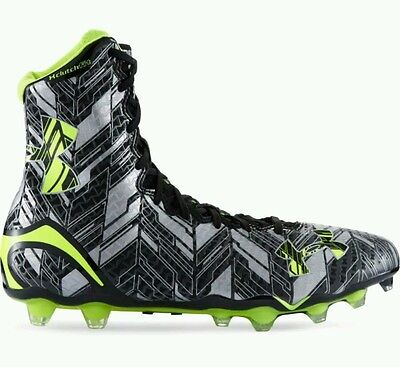 Under Armour Highlights MC Clutchfit Lacrosse Football Cleats Men's US 10 NEW