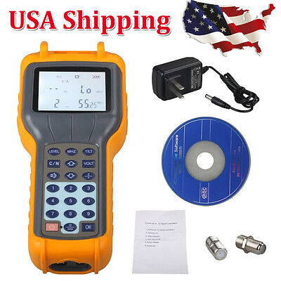 RY S110 CATV Cable TV Handle Digital Signal Level Meter DB Best Tester USA Ship
