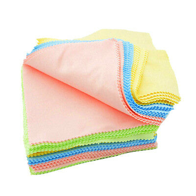 100pcs Reading Glasses Eyeglass Sunglasses Microfiber Cleaning Cloth 13x13cm