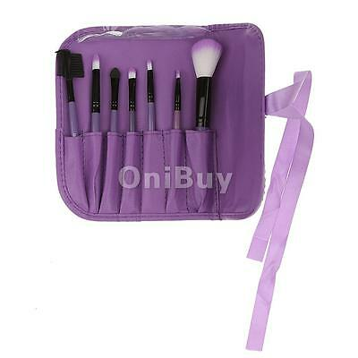 7Pc Professional Make Up Brush Set Foundation Brushes Kabuki Makeup Brush