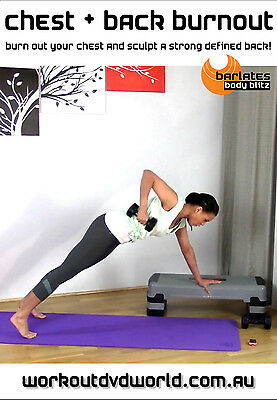 Strength Training EXERCISE DVD - Barlates Body Blitz CHEST AND BACK BURNOUT!
