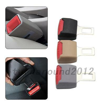 Portable 2Pcs Car Seat Seatbelt Safety Belt Clip Extender Extension Buckle New
