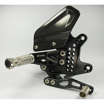 Gilles Tooling AS31-BM01-BS REARSET AS31GT2 BLACK/SILVER BMW S 1000 RR ABS 2015