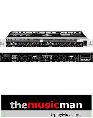 BEHRINGER CX3400 Stereo 2-Way/3-Way/Mono 4-Way Crossover ** Free Shipping **