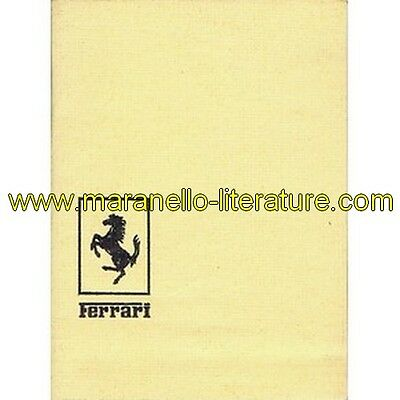 (1236) 1971 Ferrari sale and service organization