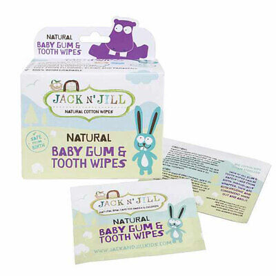 Jack N Jill Tooth & Gum Wipes 25 Pack