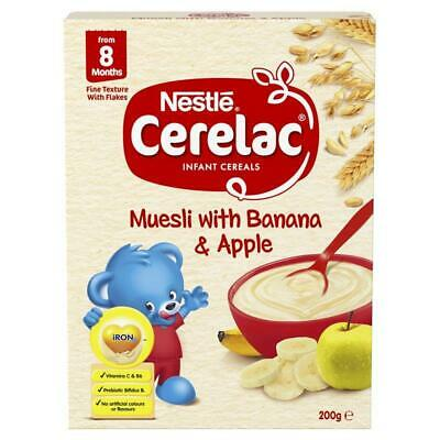Cerelac Infant Cereal Banana & Apple 200g
