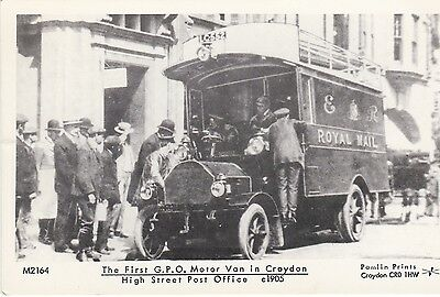 G15: First GPO van in Croydon, High St Post Office 1905