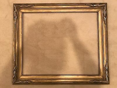 Antique 27x22 Large Newcomb Macklin Style Gold Picture Frame Arts & Crafts