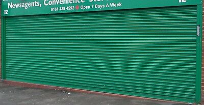 Electric Operation Commercial Roller Shutter Doors 3700 x 2500mm