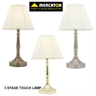 Molly Touch Table Lamp 3 Stage Antique Style A48611