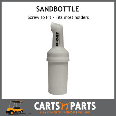 Sand Bottle Bucket Only for Golf Cart Buggy ECAR with screw top lid