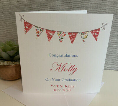 Personalised Congratulations On Your Graduation Female Son Daughter