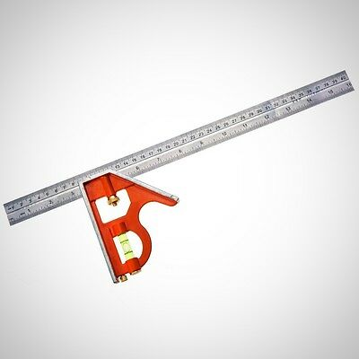 Bahco CS400 400mm Combination Square Home Measuring Tool DIY Marking Scriber New