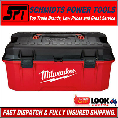 "MILWAUKEE 48-22-8020 660mm 26"" JOBSITE WORK BOX CONTRACTOR TOOL BOX 48228020 NEW"