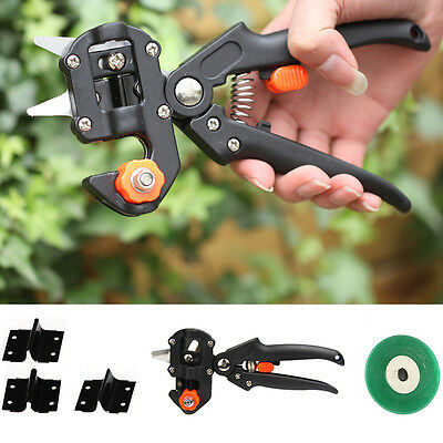 Grafting Shears Tape Garden Tree Nursery Pruning Pruner Knife Cutting Tool AU