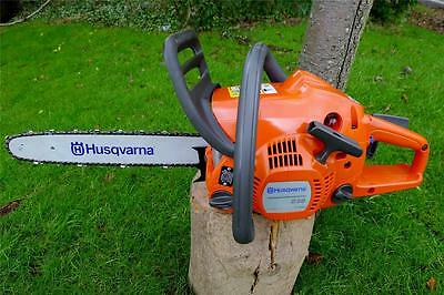 Husqvarna 236 Chainsaw- FREE Next Day FREE Chain Oil & 2 Stroke Oil, FULLY BUILT