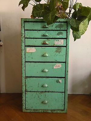 Aktenschrank vintage shabby industriedesign loft for Schrank industriedesign