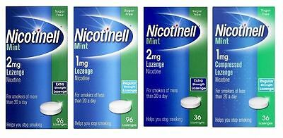 Nicotinell Lozenge Mint (1mg/2mg) Lozenges - Choose Yours
