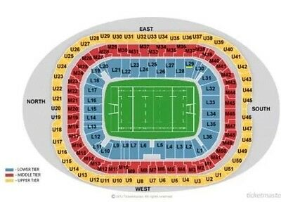 2 Tickets Cardinals Vs. Rams! Sehr Gute Plätze! L29!Twickenham London