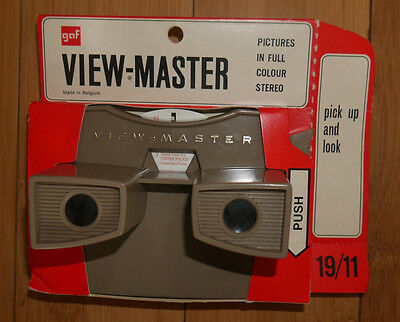 * MINT / BOXED * SAWYER'S VIEW-MASTER VIEWER ORIGINAL 1960's MODEL G RARE (389)