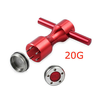 2Pcs 20g Golf Custom Weights + Red Wrench For Titleist Scotty Cameron Putters AU