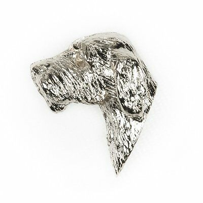 ITALIAN SPINONE Made in U.K Artistic Style Dog Clutch Lapel Pin Collection