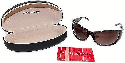 Womens Designer Fashion Sunglasses with Hard Case Tortoiseshell Bruce Oldfield