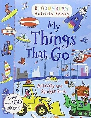 My Things That Go! Activity and Sticker Book (Activity Books for Boys), ., New B