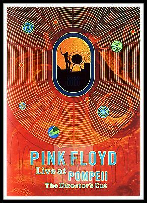 Pink Floyd Live At Pompeii    Rock & Roll Movie Posters Classic & Vintage Films