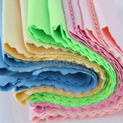 1/3/5PC Micro Fibre Cleaning Cloth for Guitar Violin Piano Musical Instrument