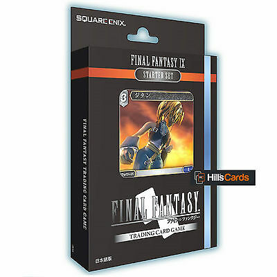 Final Fantasy TCG FF-IX (9) Starter Set: 50 Card Deck, Game Mat + Starter Guide