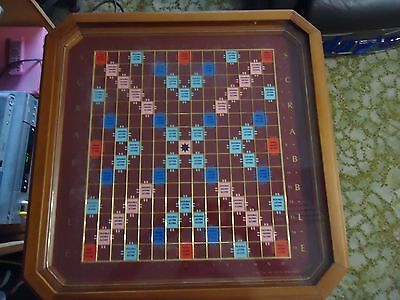 Scrabble - Franklin Mint Collector's Edition Wooden w/24K Gold Plated Letters