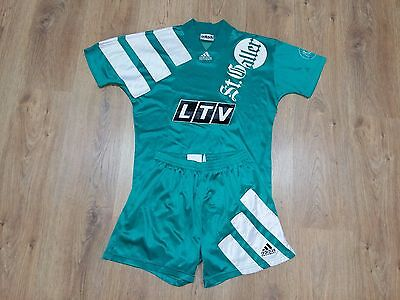 St. Gallen Switzerland 1993 - 1994 rare vintage home kit shirt and shorts size S