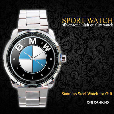 Bmw M3 Car Logo Sport Metal Watch