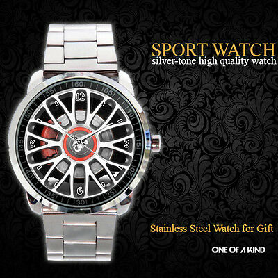 Fiat 500 2 door Abarth Wheel Sport Metal Watch