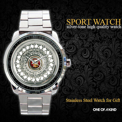Cadillac Eldorado Wire Wheels Sport Metal Watch